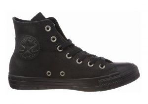 Converse Chuck Taylor All Star Leather High Top Black (Black/Black/Black 001)