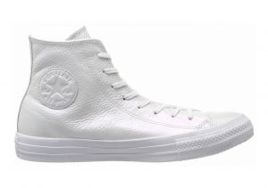 Converse Chuck Taylor All Star Leather High Top WHITE