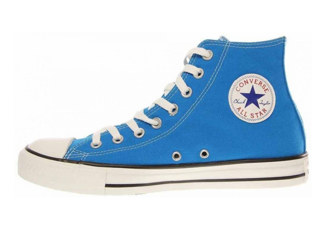 Converse Chuck Taylor All Star Seasonal High Top Electric Blue Lemonade