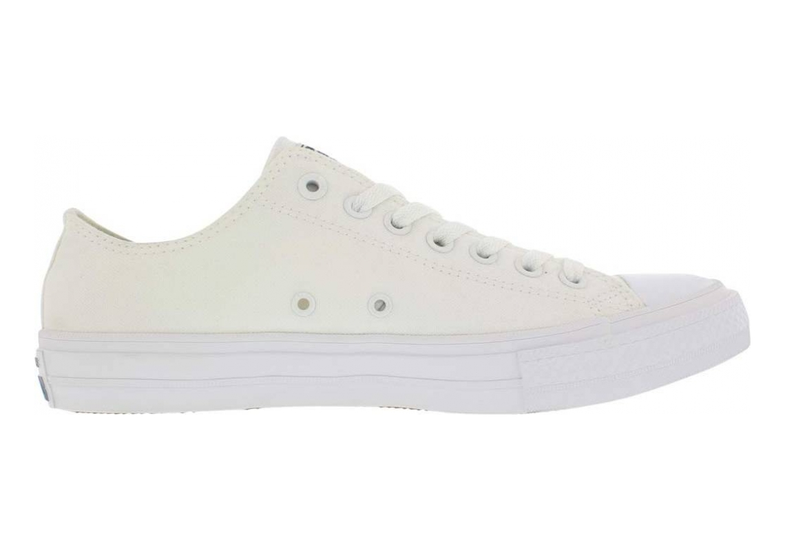 Converse Chuck II Low Top White