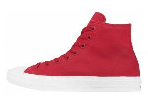 Converse Chuck II High Top Red
