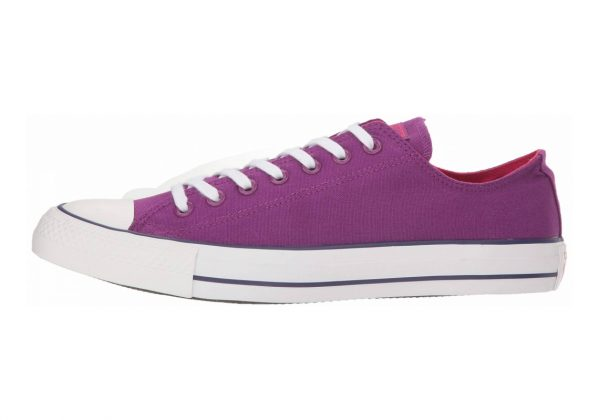 Converse Chuck Taylor All Star Seasonal Colors Low Top Icon Violet/Pink Pop/White
