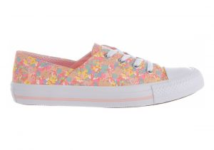 Converse Chuck Taylor All Star Coral Ox  Blanco, Rosado (Vapor Pink/Sunset Glow/Porpoise/White)