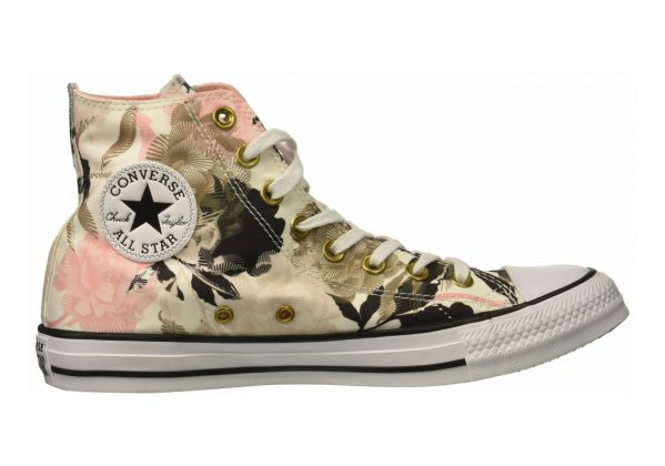 Converse Chuck Taylor All Star Floral Print High Top White/Storm Pink/Black