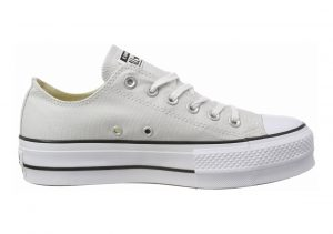 Converse Chuck Taylor All Star Lift Canvas Low Top  Grey