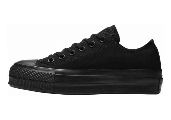 Converse Chuck Taylor All Star Lift Canvas Low Top  Black