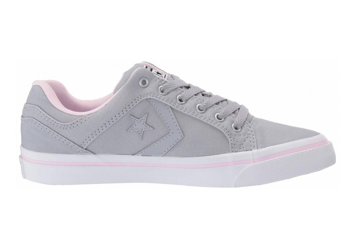 Converse El Distrito Wolf Grey/Pink Foam/White