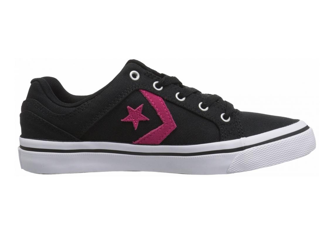 Converse El Distrito Black/Pink Pop/White