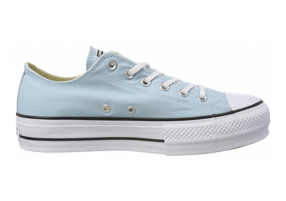 Converse Chuck Taylor All Star Lift Canvas Low Top  Ocean Bliss