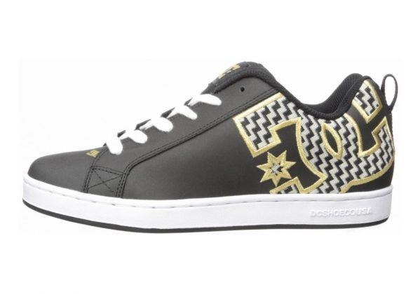 DC Court Graffik SE Black/Gold