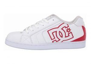 DC Net White/Athletic Red/White