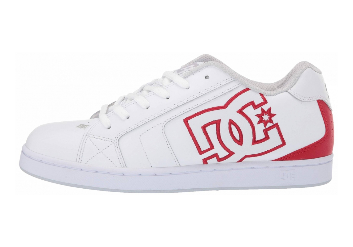 DC Net White/Athletic Red/White