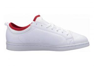 DC Magnolia TX White/White/Athletic Red