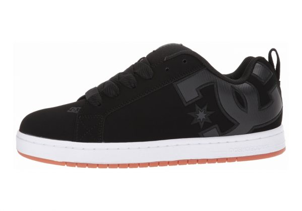 DC Court Graffik SE Black/Black/Gum