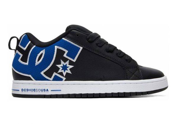 DC Court Graffik SE Black/Blue