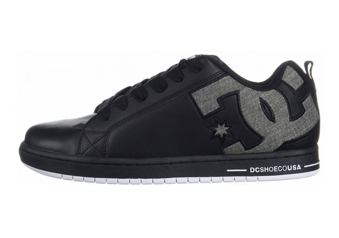 DC Court Graffik SE Black/Grey