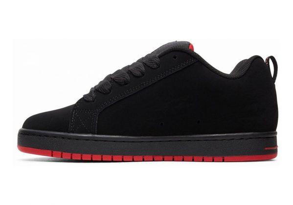DC Court Graffik SE Black/Red/Black