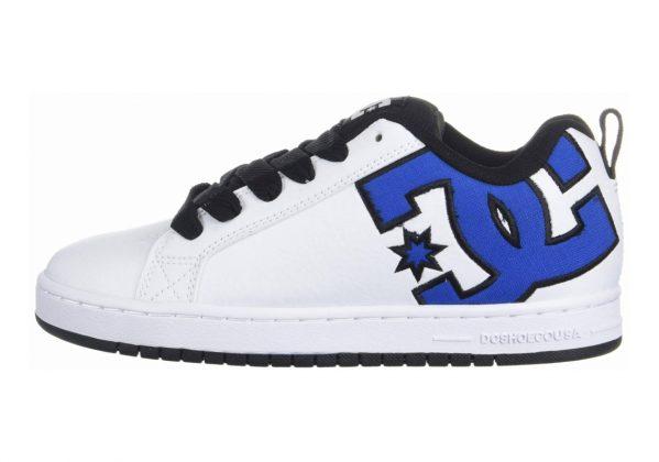 DC Court Graffik SE Blue/White/Black