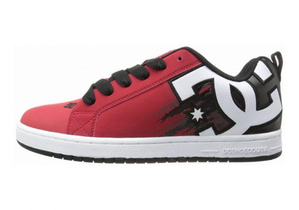 DC Court Graffik SE Red/Black/White