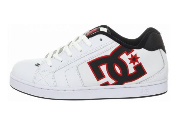 DC Net White/Athletic Red