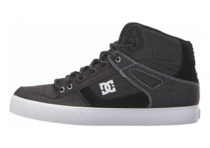 DC Pure WC TX LE High Top  Black/White/White