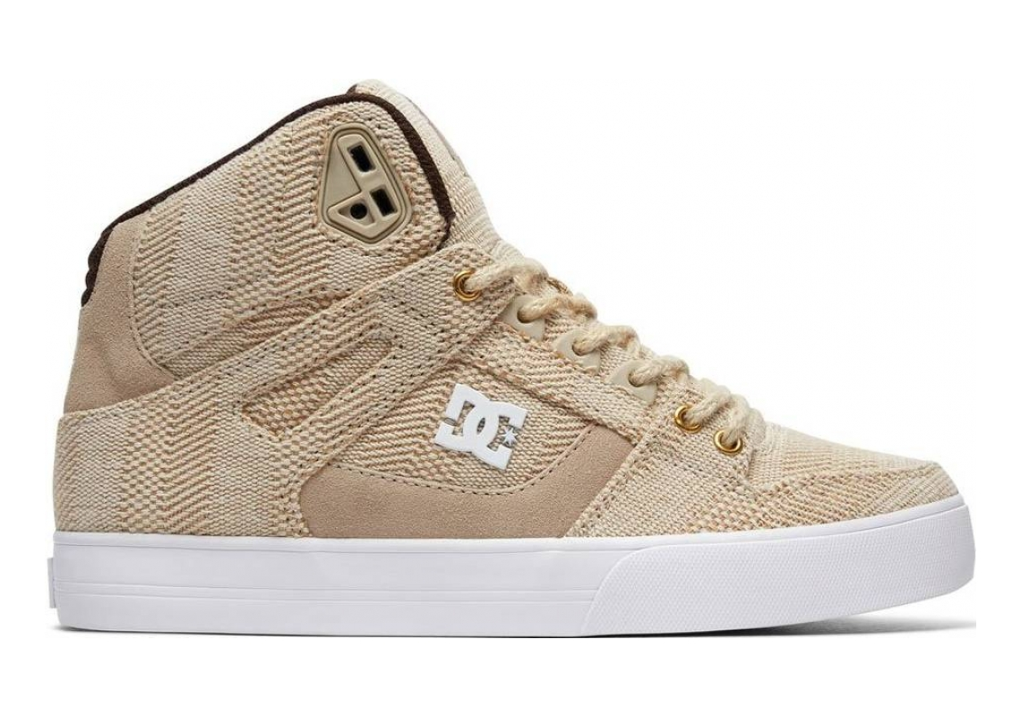 DC Pure WC TX LE High Top  Beige