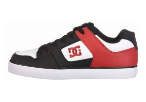 DC Pure Black/Athletic Red/Black