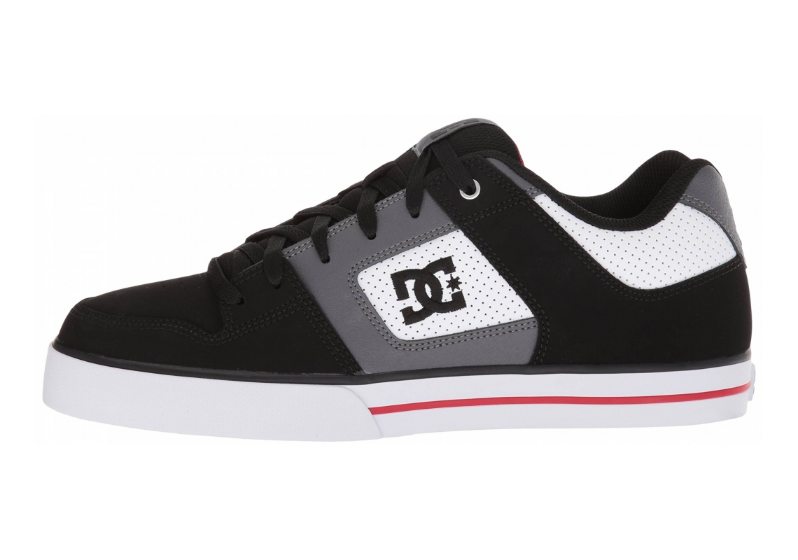 DC Pure white/black/red
