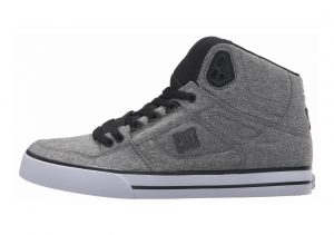 DC Spartan High WC TX Black/Heather Grey