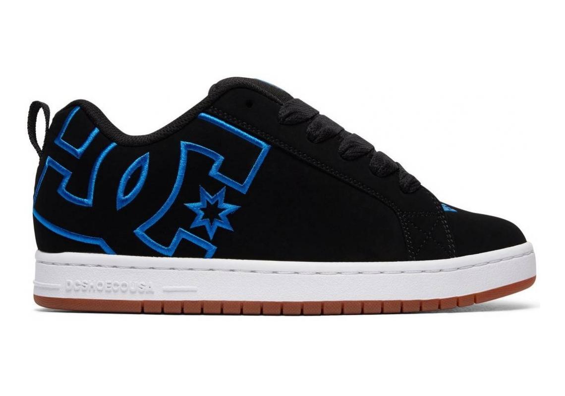 DC Court Graffik Black/Black/Blue