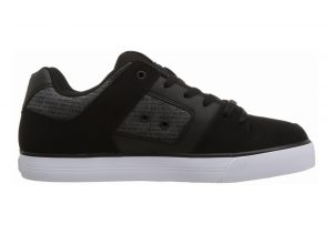 DC Pure SE Black/Heather Grey