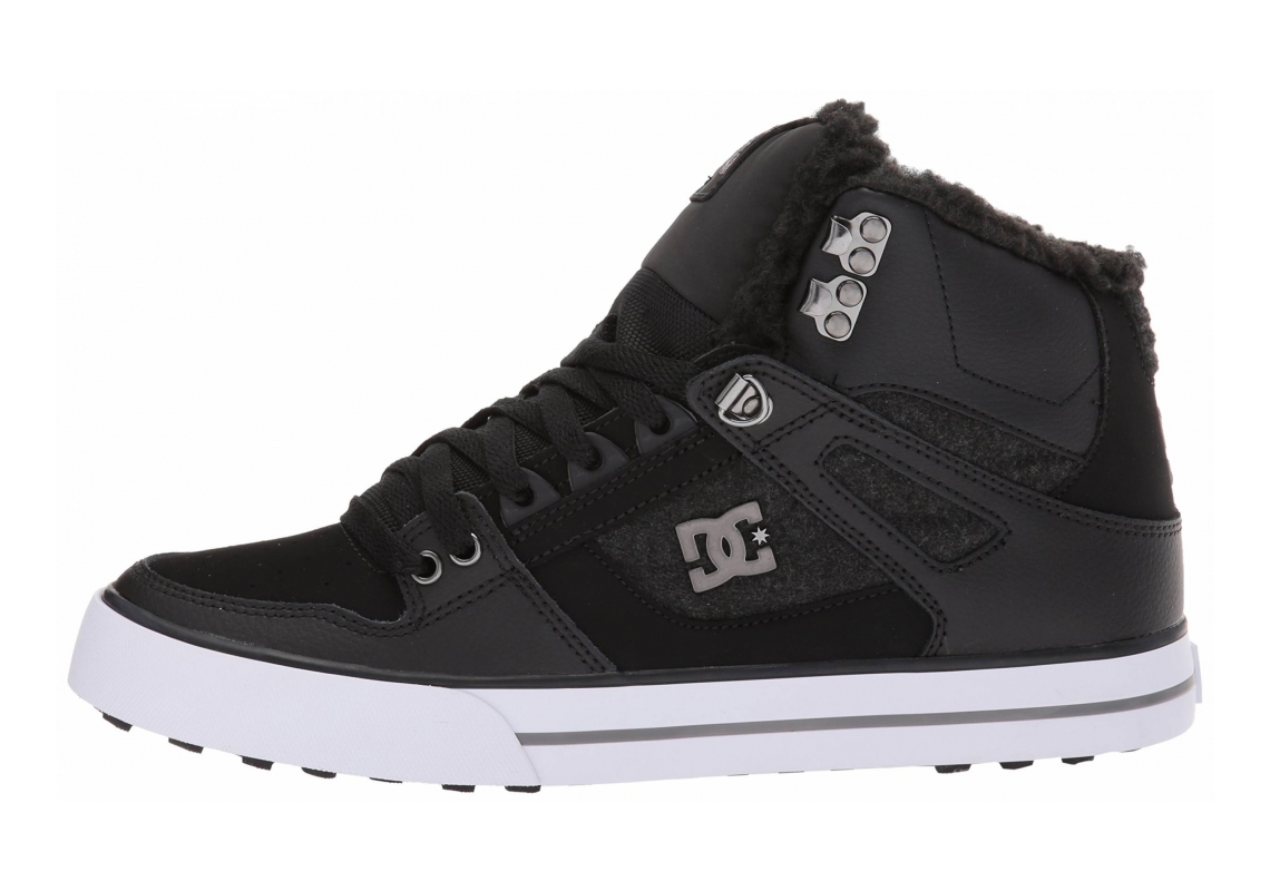 DC Spartan WC WNT High Top Black/Armor