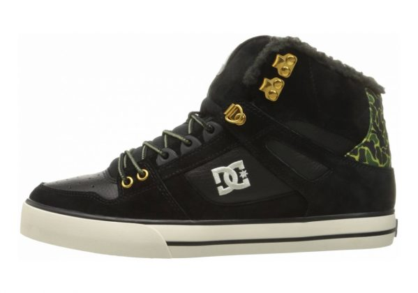 DC Spartan WC WNT High Top Black Blo