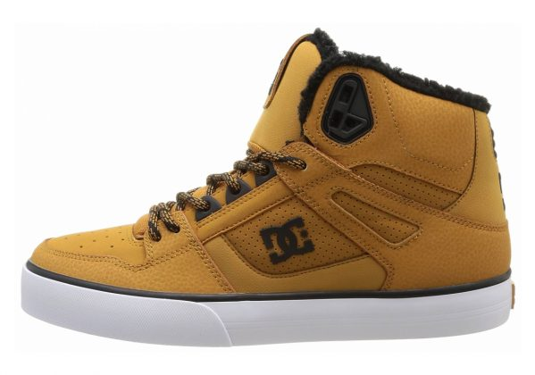 DC Spartan WC High Top Yellow