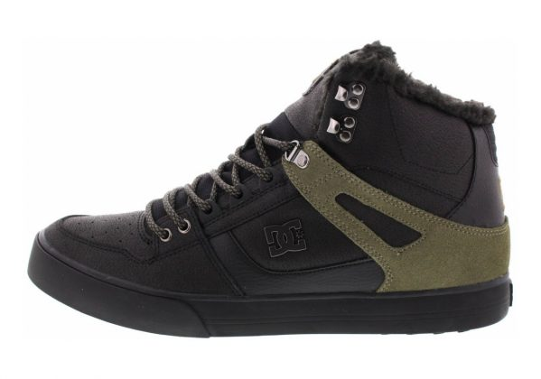 DC Spartan WC WNT High Top Black (Black Olive)