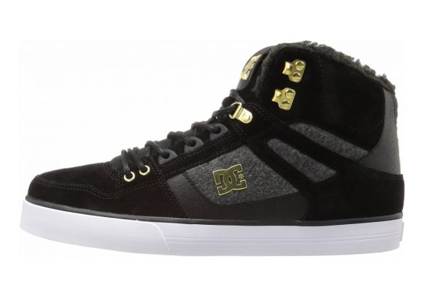 DC Spartan WC WNT High Top Black/Gold