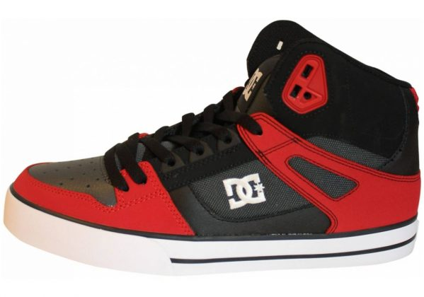 DC Spartan WC High Top Rot (Red/Grey/Black - Xrsk)