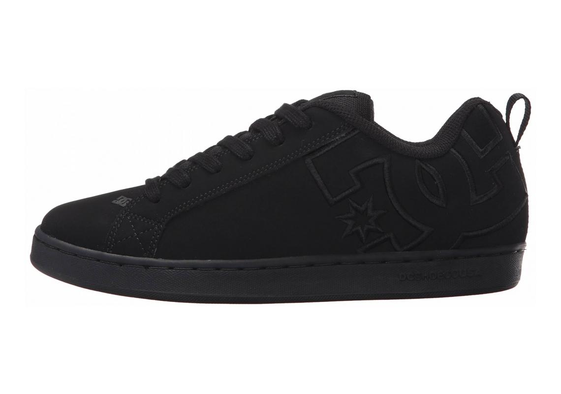 DC Court Graffik SE Black/Black/Black