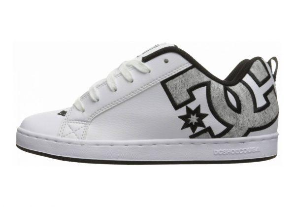 DC Court Graffik SE White/Grey/Grey