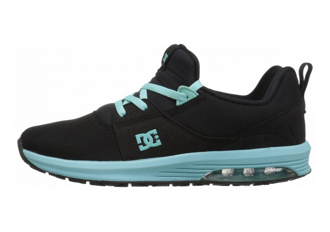 DC Heathrow IA Black/Aqua