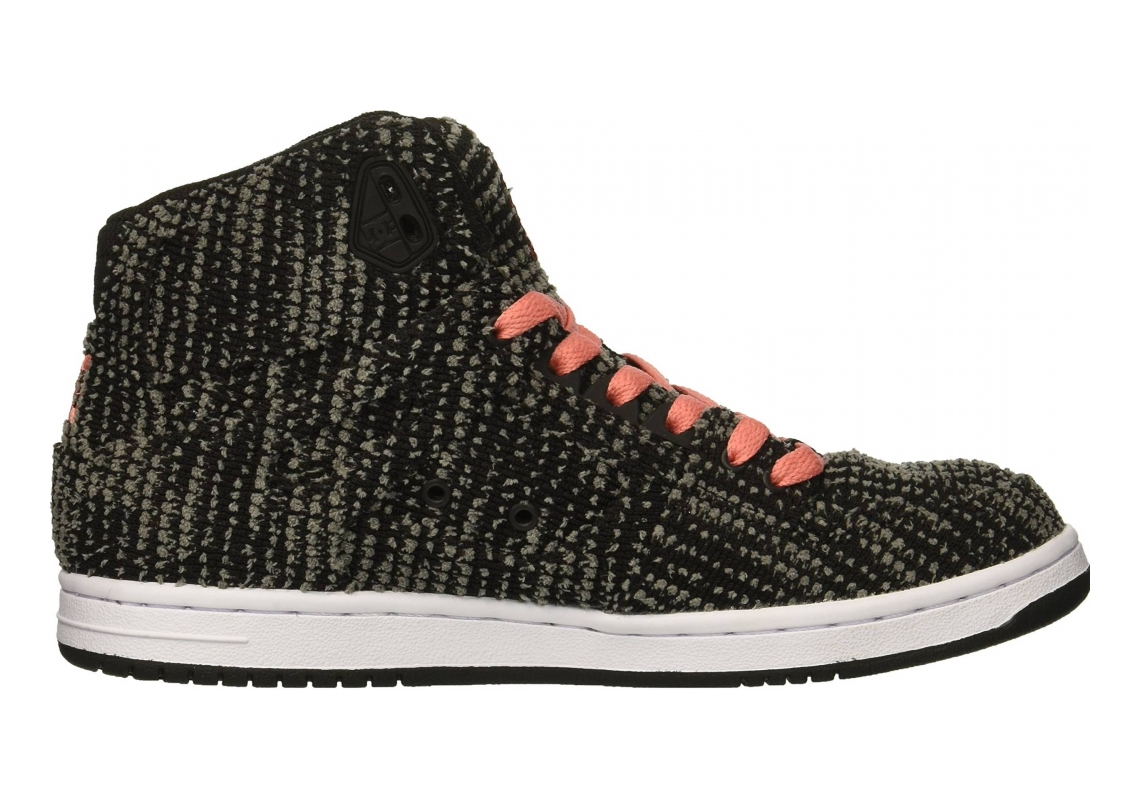 DC Pure High-Top TX SE Black/Pink