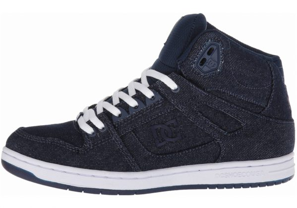 DC Pure High-Top TX SE Navy/Navy