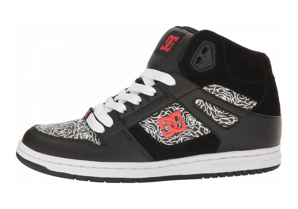 DC Rebound High SE Black/Red/White
