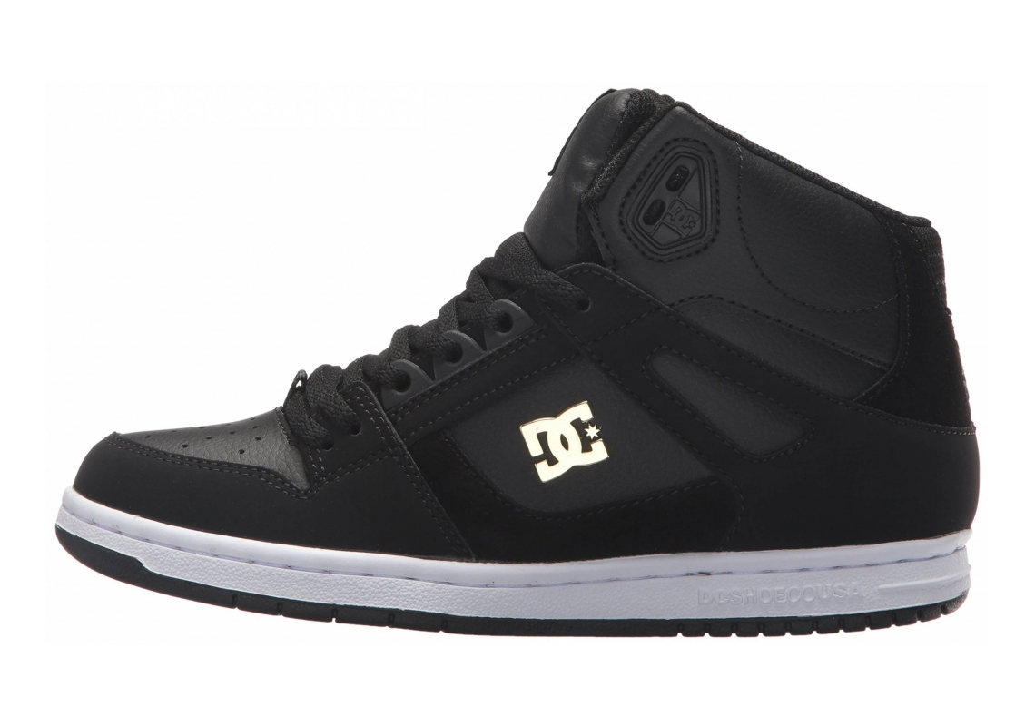 DC Rebound High SE Black/Gold