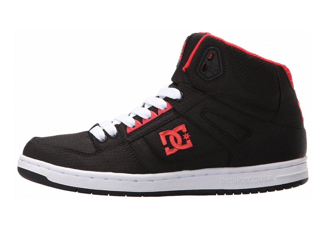 DC Rebound High TX Black/Poppy Red