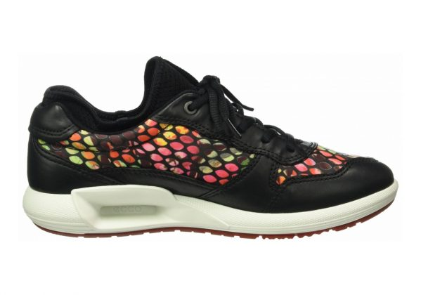 Ecco CS16 Low Black (Black/Flower Print50155)