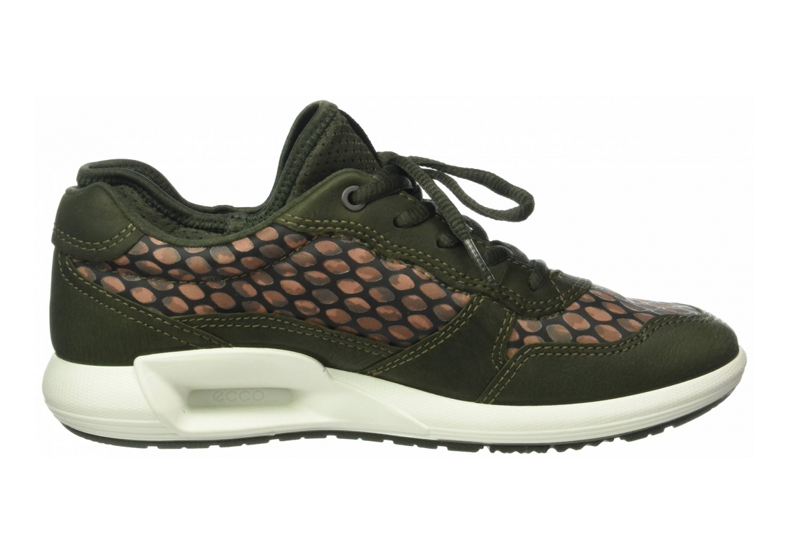 Ecco CS16 Low Green (Deep Forest/Ikat Print50152)