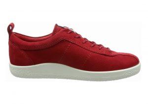 Ecco Soft 1 Sneaker Chili Red