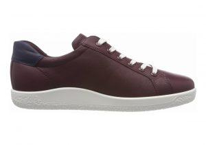 Ecco Soft 1 Sneaker Red (Wine 1278)