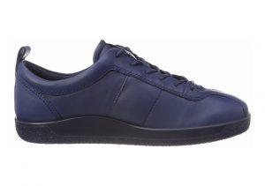 Ecco Soft 1 Sneaker Blau (True Navy)